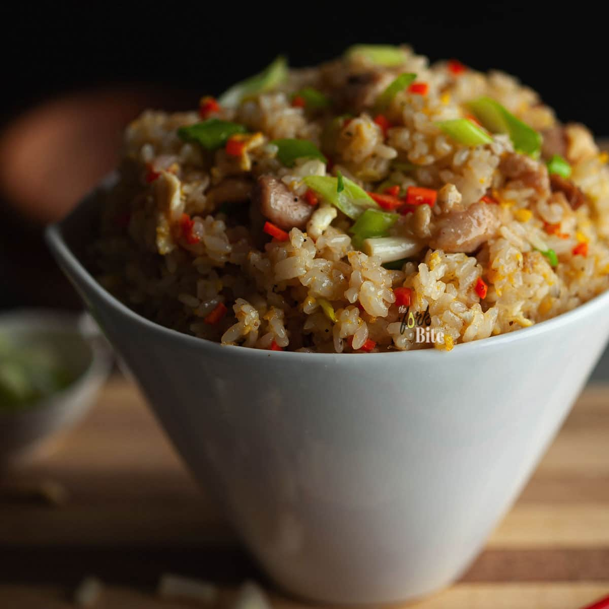 This Benihana Chicken Fried Rice is the perfect copycat recipe for homemade hibachi, just like the one served at Benihana. It's super delicious and easy to make at home, no tricks required, only lots of garlic butter.