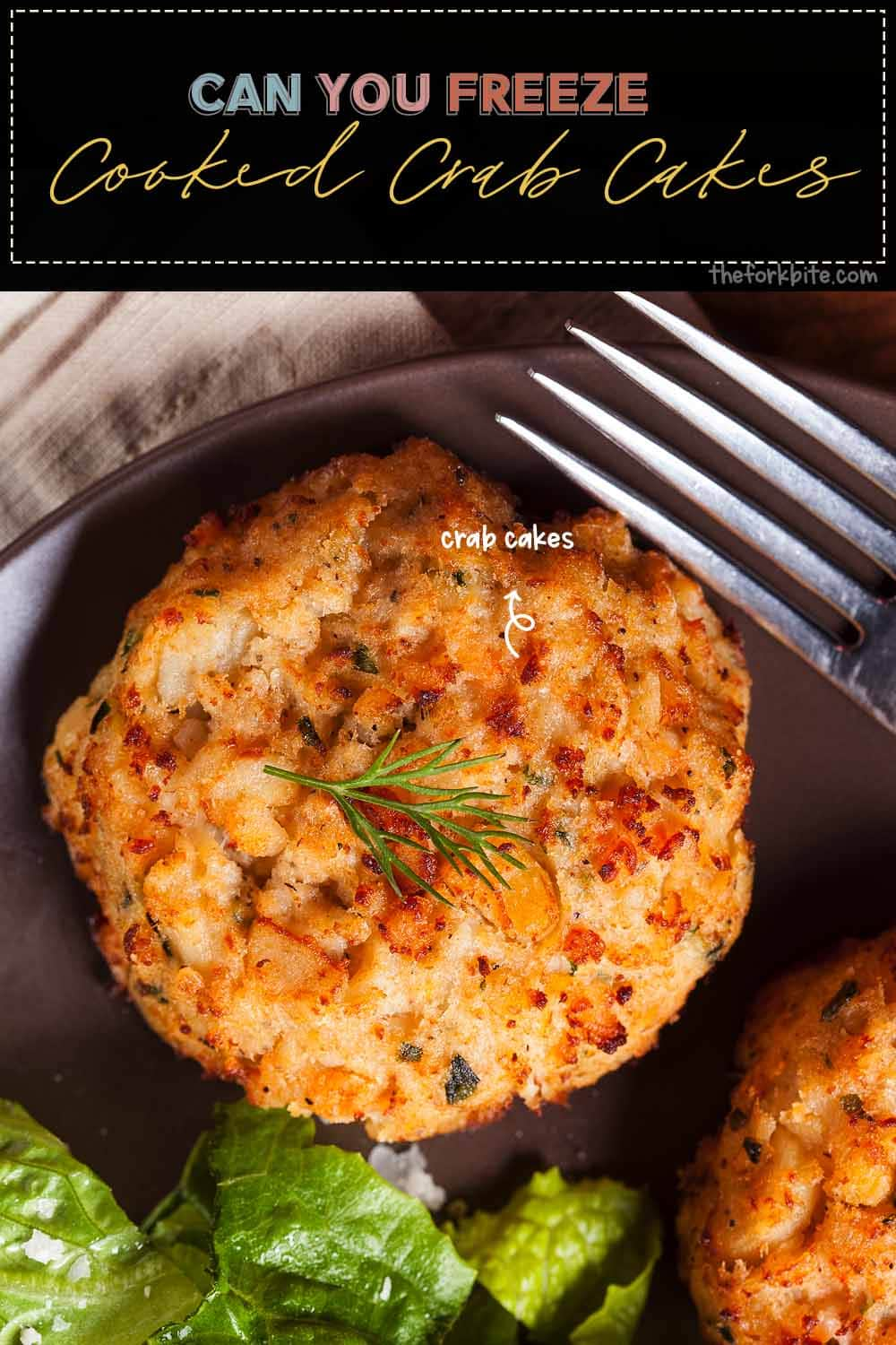 Crab cakes are eminently freezable. You can freeze them when they are either cooked or uncooked. However, for the best results, I would recommend freezing them while they are still raw based on my experience.